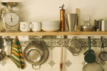 מדפים לאחסון ועיצוב המטבח, רעיונות מבית תמי4 Bubble Bar