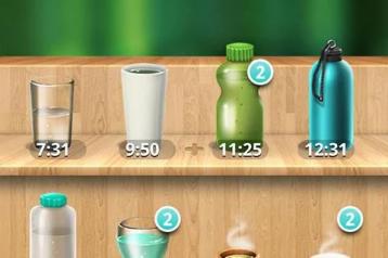 אפליקציית Water Your Body לשתיה בריאה ונכונה של מי תמי4 Bubble Bar