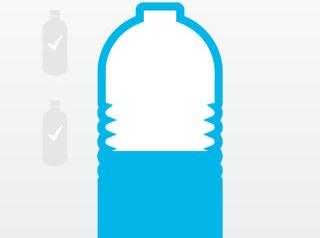 אפליקציית Waterlogged תזכורת לשתיית מי תמי4 Bubble Bar