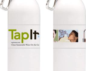 אפליקציית TapIt Water שתיית מי תמי4 Bubble Bar