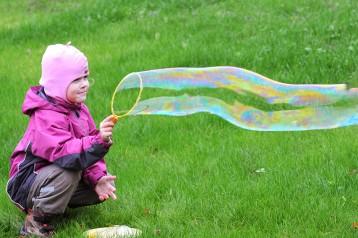 מתכון ביתי של תמי4 Bubble Bar לבועות סבון למשחקי ילדים