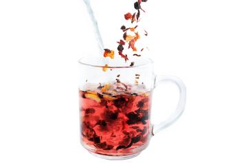 שטראוס מים מאחלת לכם חורף חם עם הרבה תה חם