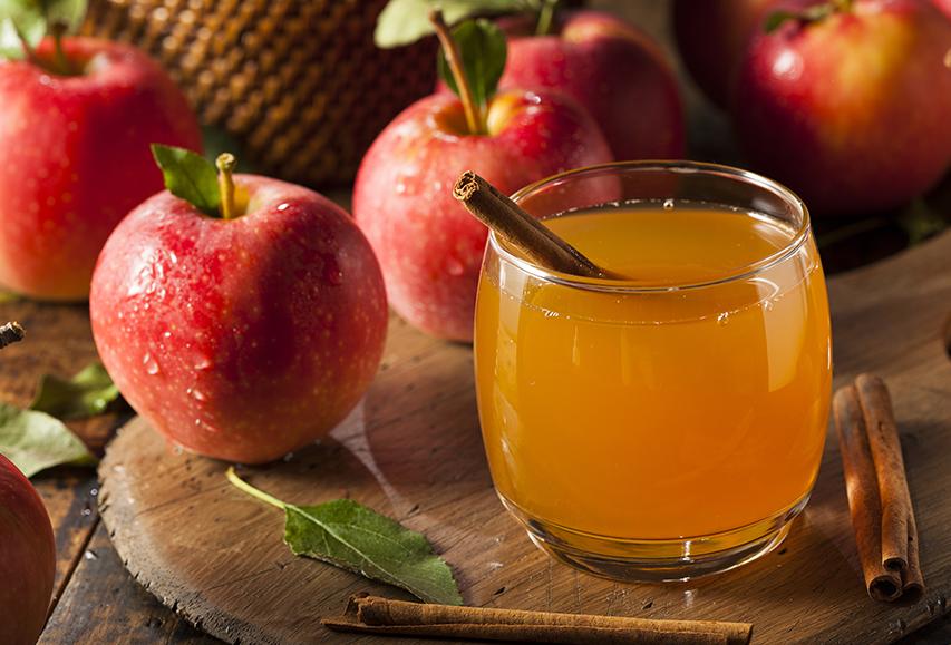 מתכון לסיידר תפוחים חם