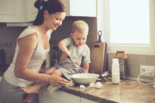 תמי4, כותרת מבשלים עם ילדים