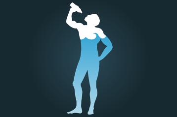חשוב לשתות מים במהלך אימון גופני