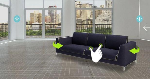 צילום: אפליקציית Homestyler Interior Design